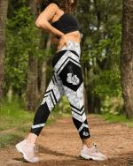 Boxing geometric leggings