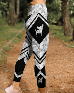 Chihuahua geometric leggings