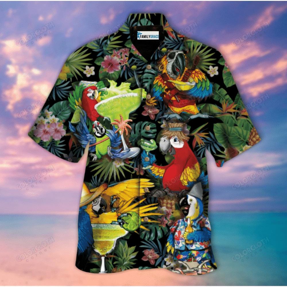 Aloha Parrot Hawaii Shirt HT280504