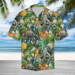 Octopus Hawaiian Beach Shirt