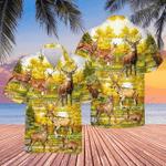 A BEAUTIFUL SUMMER WITH DEER HAWAIIAN SHIRTS TY216004