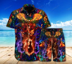Amazing Guitar Combo Beach Shorts And Hawaii Shirt HT190602
