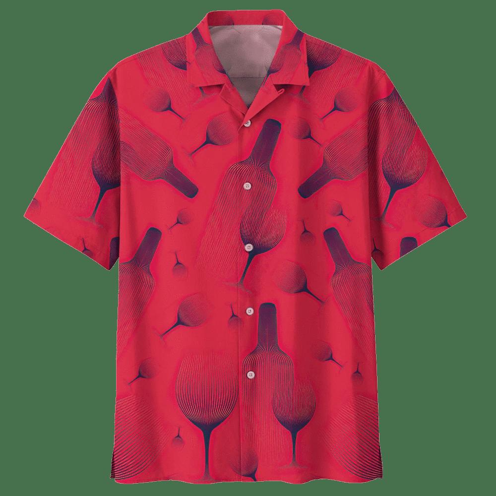 WINE HAWAIIAN SHIRT 387313
