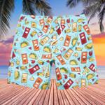 Taco Bell Swim Trunks Taco Hawaiian Shorts Gifts For Taco Bell Lovers