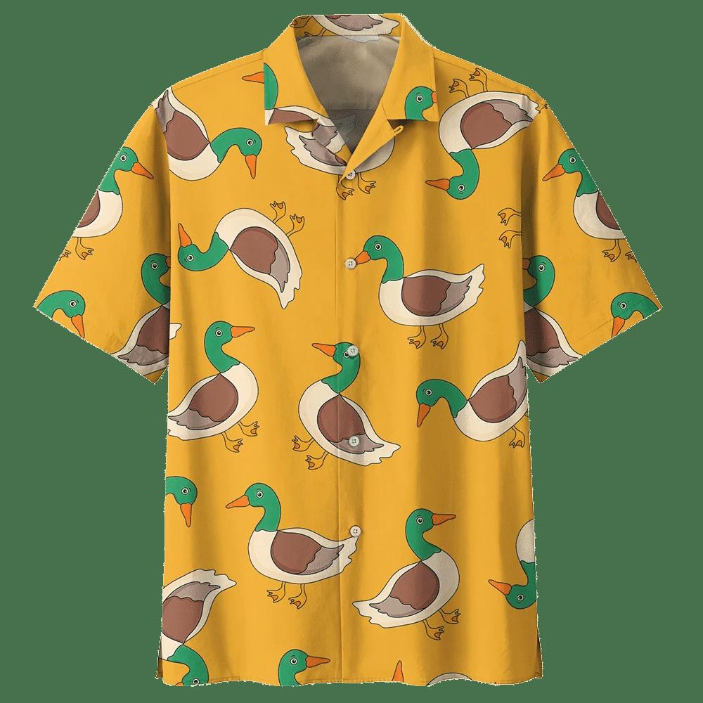 DUCK HAWAIIAN SHIRT 794998