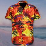 Orange Hawaiian Shirt Aloha Tropical Beach Best Summer Shirt For Men