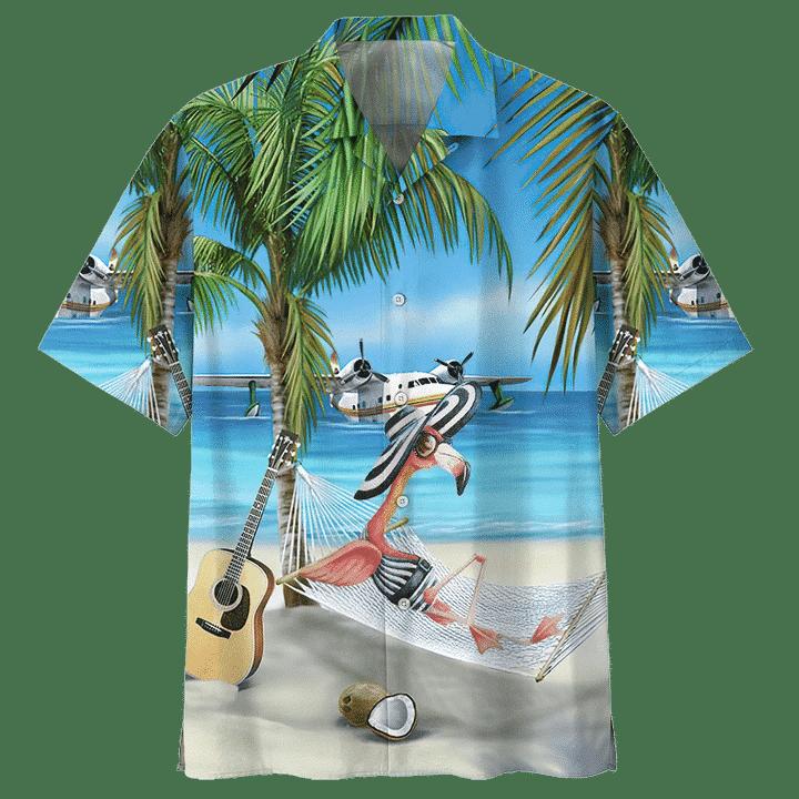 FLAMINGO HAWAIIAN SHIRT 4