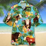 Men Hereford cattle Hawaii Shirt Hereford Cattle Lovers Pineapple HAWAIIAN SHIRT HEREFORD CATTLE LOVERS HAWAIIAN SHIRT