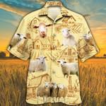 Sheep Lovers Farm Hawaiian Shirt