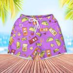 Taco Bell Kids Hawaiian Shorts Boys Swim Trunks