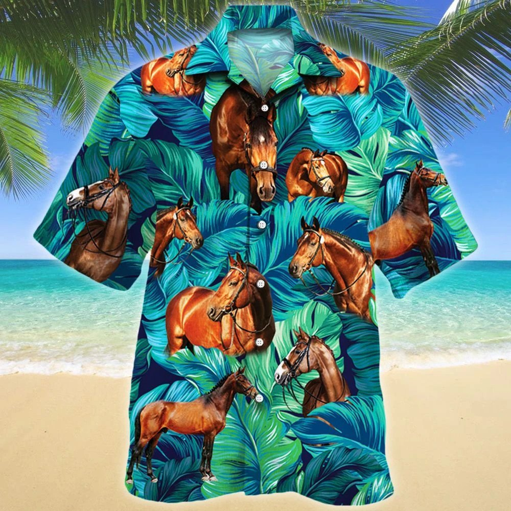 Warmblood Horse Lovers Hawaii Shirt