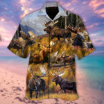 Advice From A Moose - Spend Time In The Woods Unisex Hawaiian Shirt