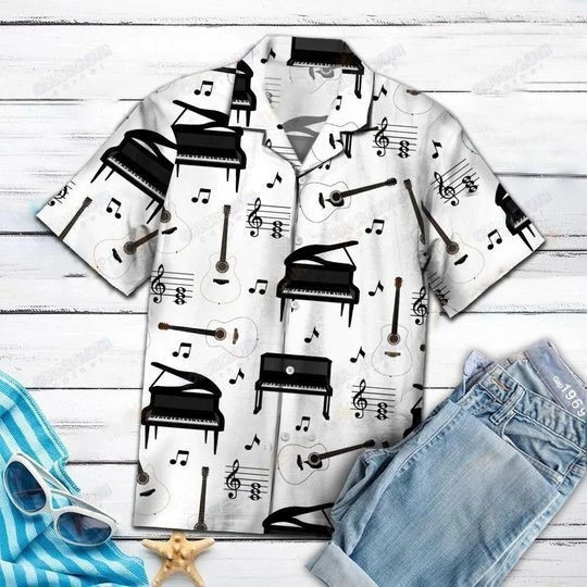 Amazing Piano Hawaii Shirt HT290604