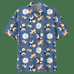 Cute Cow Hawaii Shirt Blue COW HAWAIIAN SHIRT 3