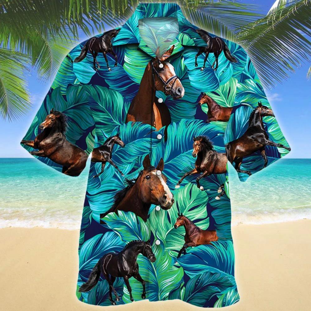 Hanoverian Horse Lovers Hawaii Shirt