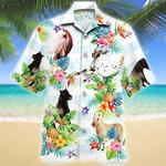 Miniature Horse Tropical Flower Hawaii Shirt