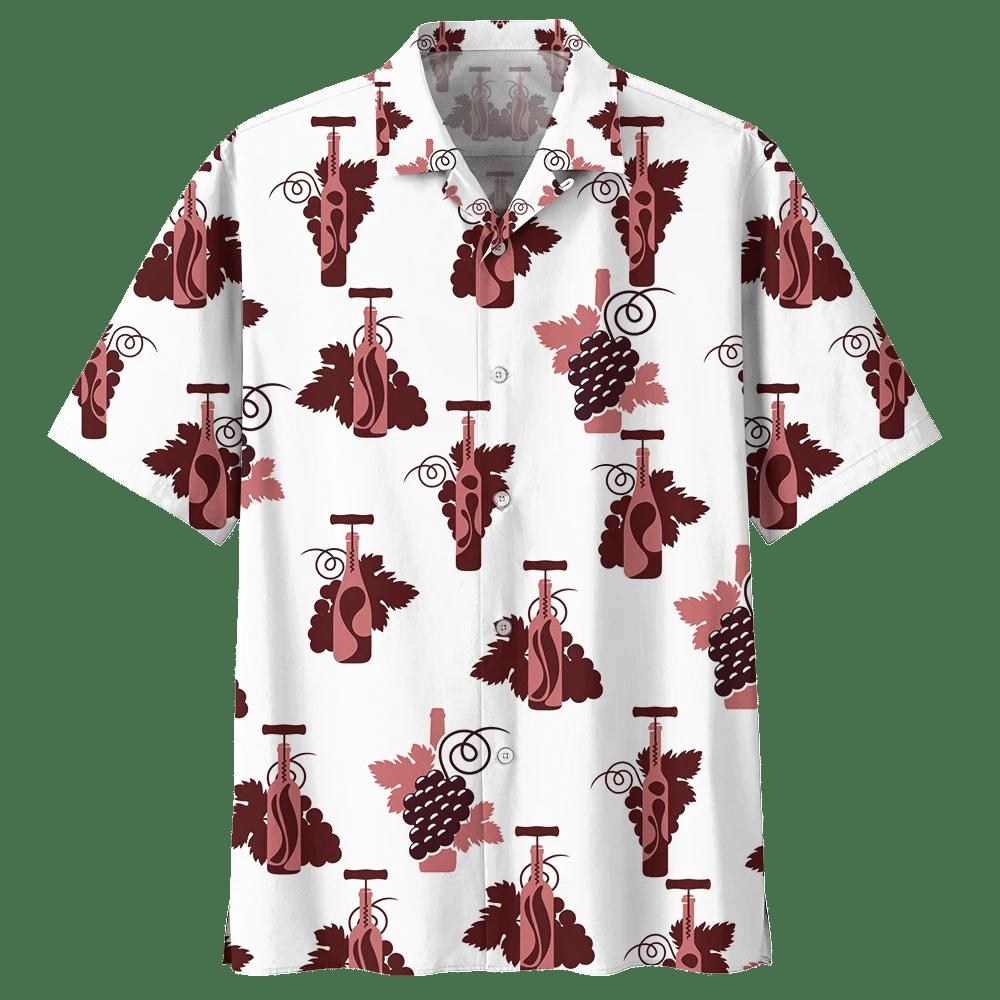 WINE HAWAIIAN SHIRT 994820