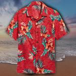 Ranboo Hawaiian Shirt Red Bird Of Paradise Hawaiian Shirt