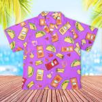 Taco Bell Kids Hawaiian Shirt Children Hawaiian Outfit For Boys Hawaii Shirt