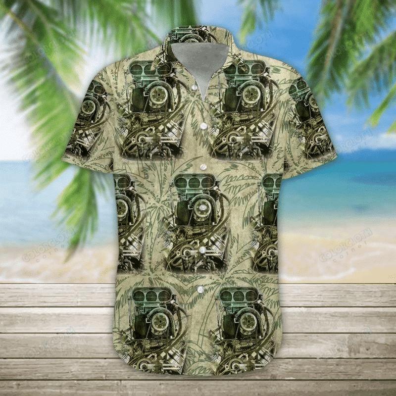 Drag Racing Hawaii Shirt HT220503