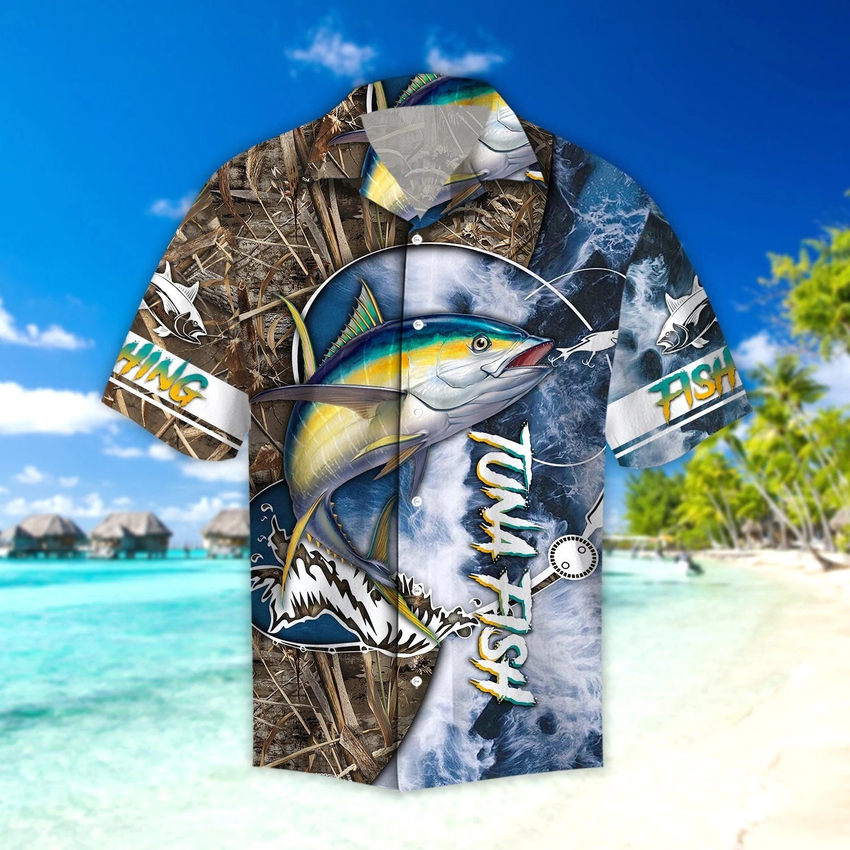 Life Tuna Fishing Catch and Release Fishing Hawaii Shirt