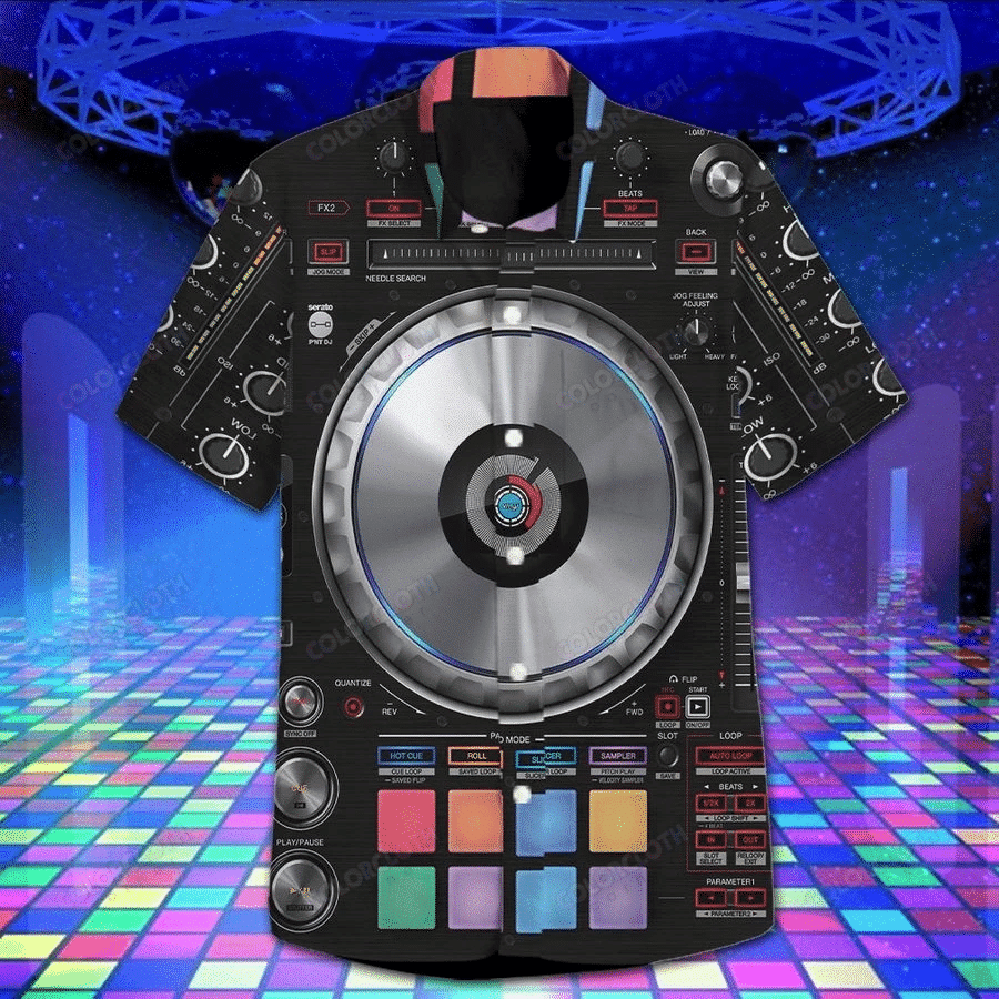 DJ Controller Hawaiian Shirt TV100698