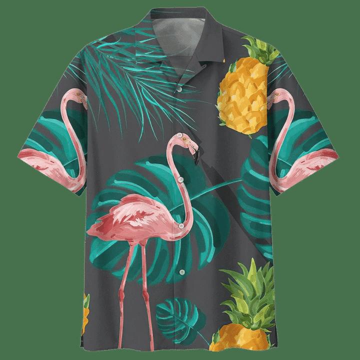 FLAMINGO HAWAIIAN SHIRT 15