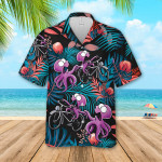 Octopus Hawaiian Beach Shirt 05