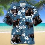 Black Angus Hawaii Shirt BLACK ANGUS CATTLE LOVERS HAWAIIAN SHIRT 782220
