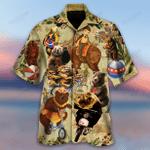 Circus Bears Unisex Hawaiian Shirt TY007136-RE