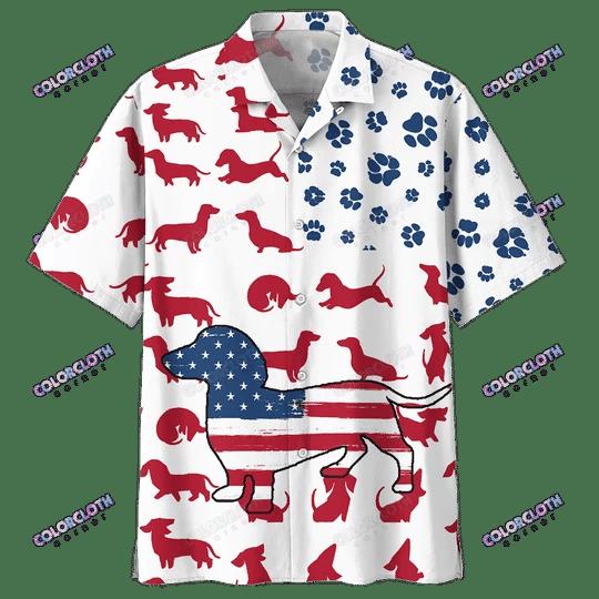 Dachshund Hawaiian Shirt TY146003
