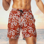 DD Hawaiian Shorts Dnd Dungeons  Dragons Red Beach Short