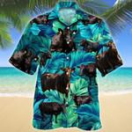 Men Black Angus Hawaii Shirt Cattle Shirt Green BLACK ANGUS CATTLE LOVERS HAWAIIAN SHIRT 348893