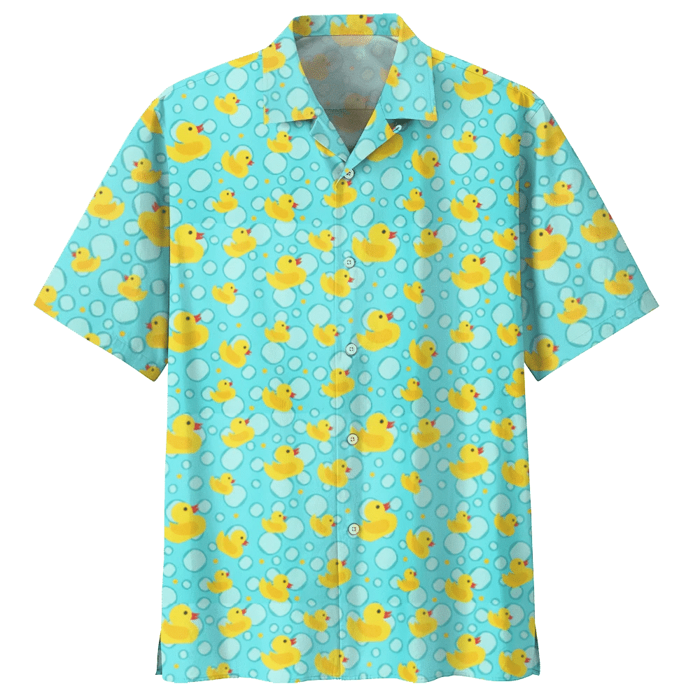 DUCK HAWAIIAN SHIRT 714529