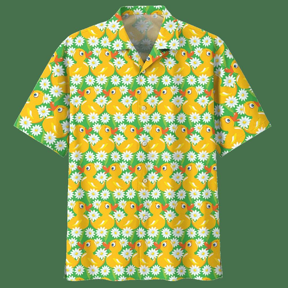 DUCK HAWAIIAN SHIRT 840804