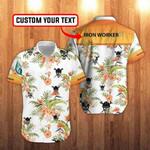 Simple Ironworker Tropical Unisex Hawaiian Shirts