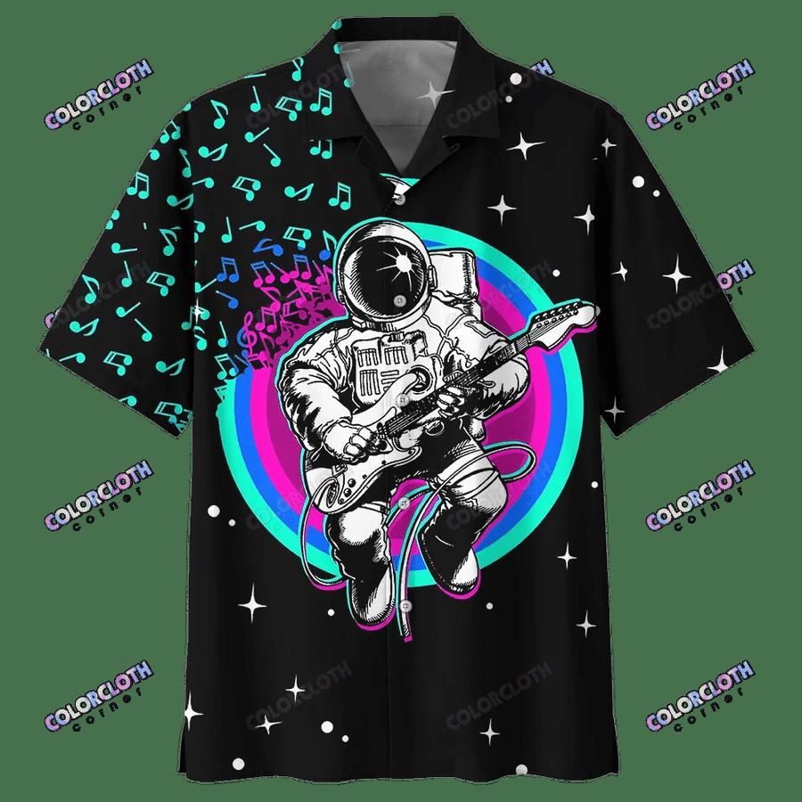 Awesome Astronaut Space Hawaii Shirt HL31704