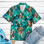 Basset Hound Hawaiian Shirt Beach Short Sleeve  Basset Hound Shirt Gift For Dog Lovers