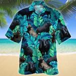 Men Brangus Hawaii Shirt Green BRANGUS CATTLE LOVERS HAWAIIAN SHIRT