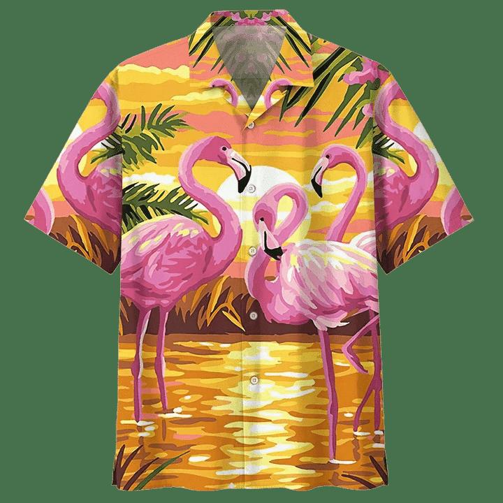 FLAMINGO HAWAIIAN SHIRT 6