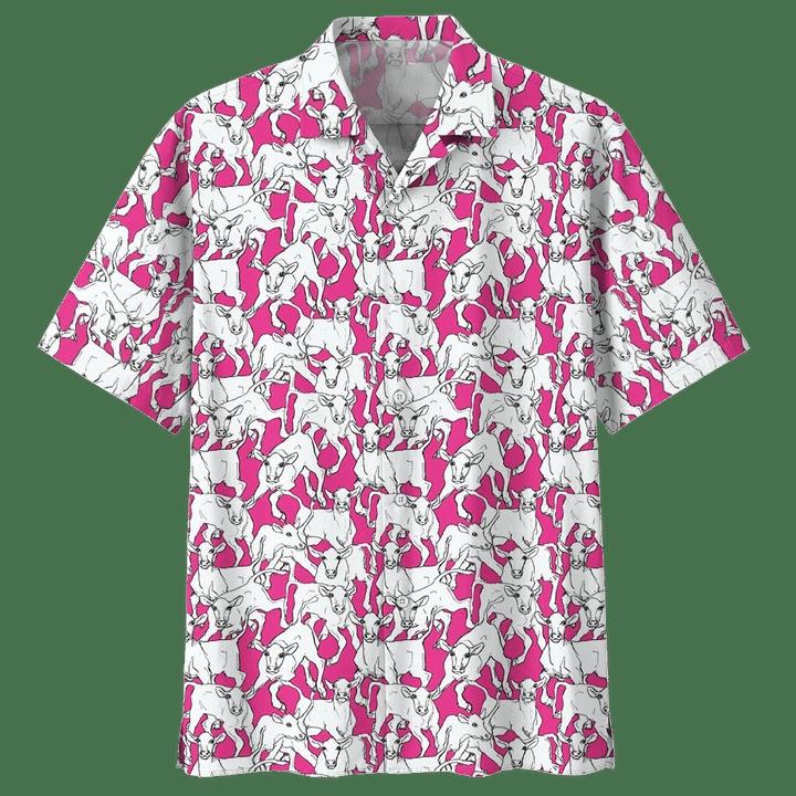 COW HAWAIIAN SHIRT 4