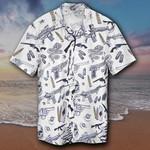Gun Hawaiian Shirt 2Nd Amendment Cool Hawaiian Button Up Shirt For Men