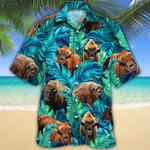 Bison Lovers Hawaiian Shirt