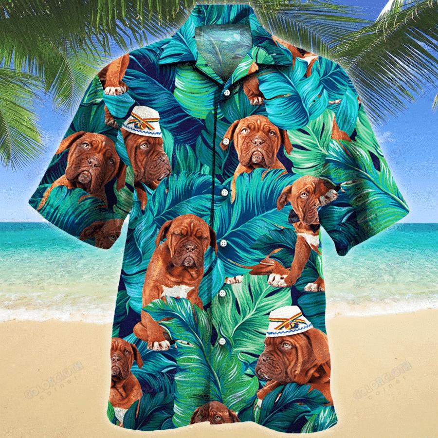 Dogue de Bordeaux Dog Lovers Gift Hawaiian Shirt TV055843