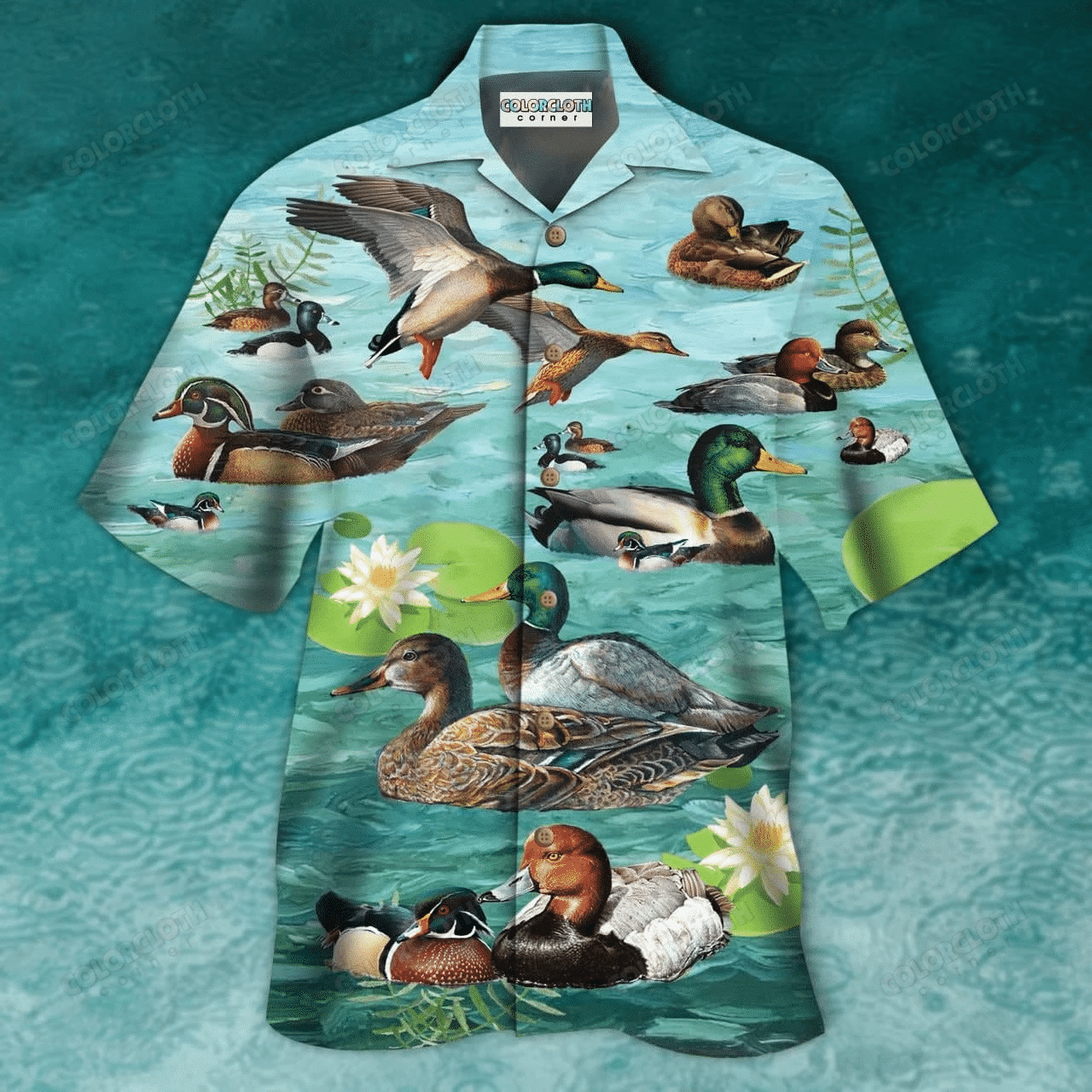 All You Need Is Love And A Duck Unisex Hawaii Shirt HT040506