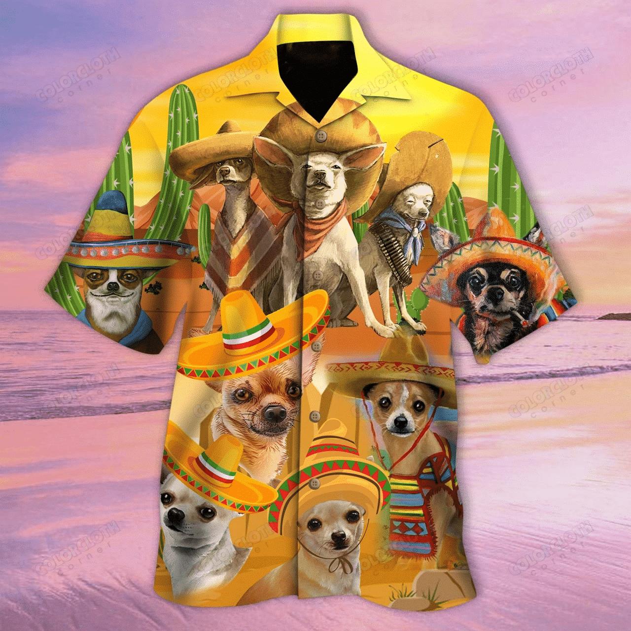 Dog Chihuahua Is My Best Friend Hawaii Shirt HT220501