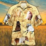 Miniature Horse Lovers Farm Hawaiian Shirt