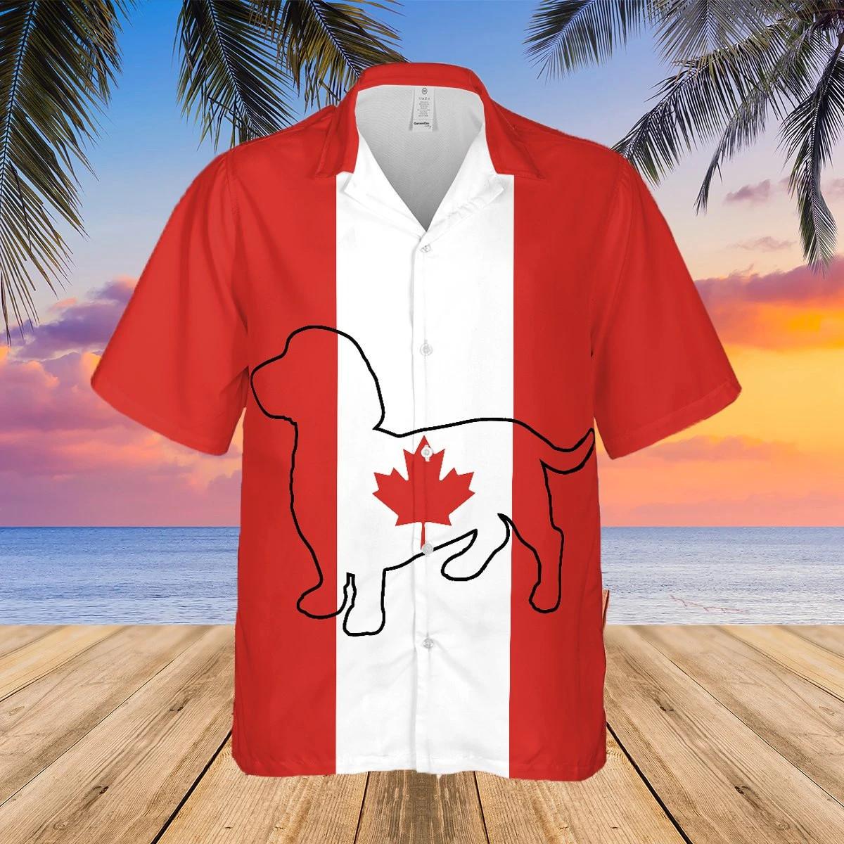 Dachshund canadian hawaii shirt