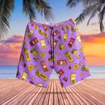 Taco Bell Swim Trunks Hawaiian Shorts Beach Swim Shorts Mens Taco Bell Apparel Gift