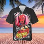 Halloween Hawaiian Shirt Horror Halloween Hawaiian Button Up Shirt For Adults Gift